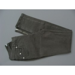 Pantalon gris slim - 3 suisses