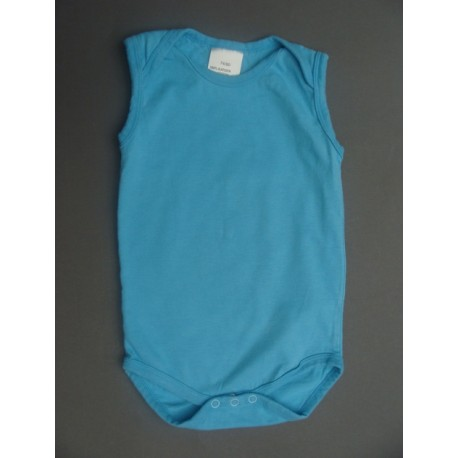 Body turquoise sans manches