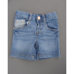 Short bleu en jean -  Tex