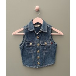 Veste en jean bleu - 8 ans - Move's Junior