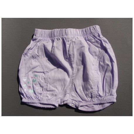 Short mauve - 3 mois - In Extenso
