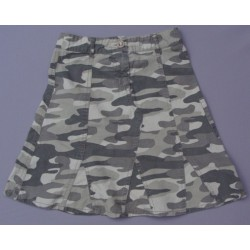 Jupe motifs camouflage militaire
